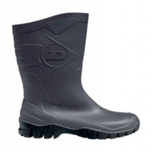 Dunlop® Dee Stiefel - mid waterproof PVC boots for professional, garden and leisure boot shaft height: approx. 26 cm for men and women