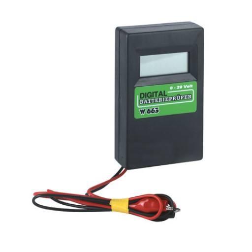 Digital incl. Batt battery tester.