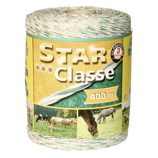 Pasture wire star-Classe, 3 x 0.20 stainless steel + copper 3 x 0.25, 400 m