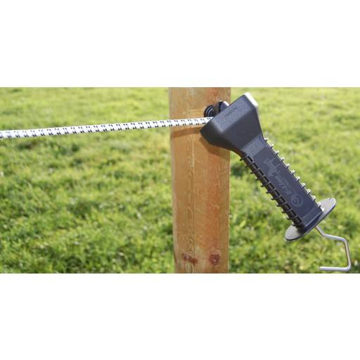 Fence gate rope set