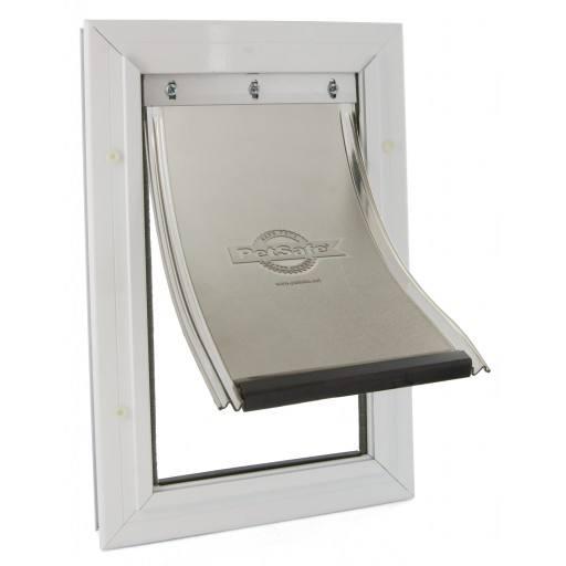 Staywell® aluminium pet door small