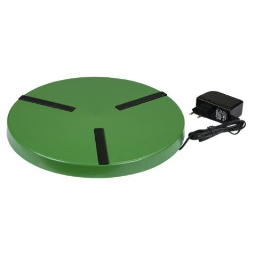 Heating plate for poultry drinkers up to 300 mm diameter - 24 V - 22 W