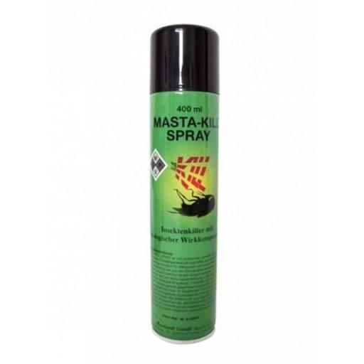 MASTA-KILL - Kill poison for flies - 400 ml spray can - Insect killer spray