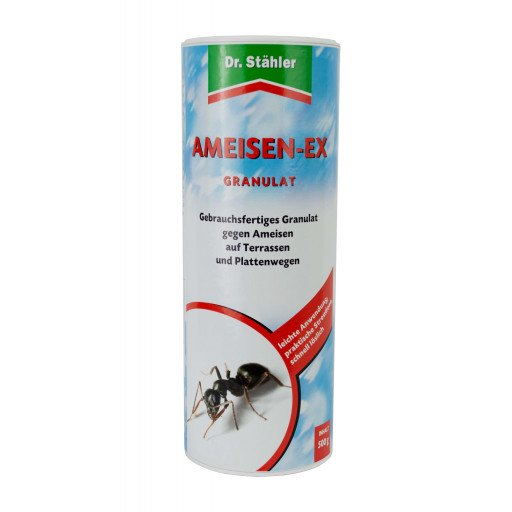 Ameisen Ex 500 g - Dr. Stähler Ameisenköder Ameisenfrei Ameisenstreumittel