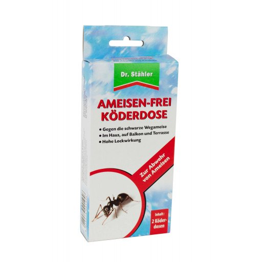 Ameisen Köder 2 Stück Dr. Stähler Ameisenköder Ameisenfrei Ameisenstreumittel
