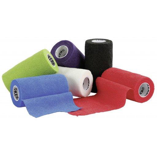 Bandagen verschiedene Farben, selbsthaftend 10 cm breit - Bandage Verband Klauenbandage