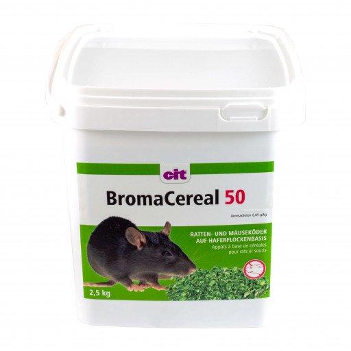 Rattenköder Broma Cereal 2500 g (Bromadiolon) - Ratten Gift Köder