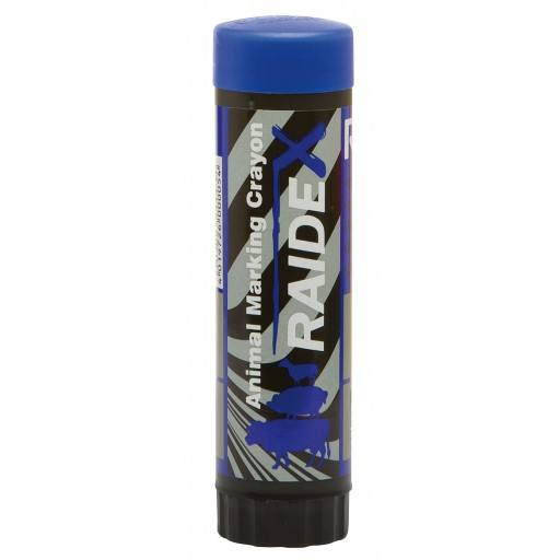 Cattle pen RAIDEX blue for quick tagging of sheep, pigs, cattle, cows, calves, sheep, goats, etc.
