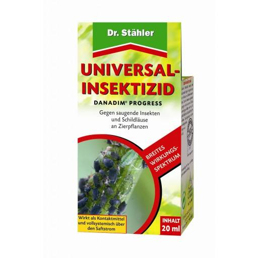 Danadim ® progress universal insecticide by Dr. Staehler, 2 x 20 ml - full systemic effect against sucking insects and scale insects