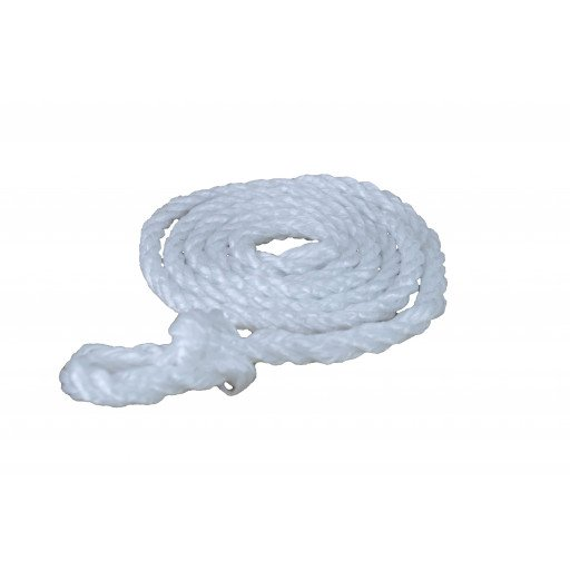 Rope 2.00 m, small loop, white