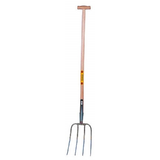 Manure fork Abbot standard with T-handle shaft 110 cm