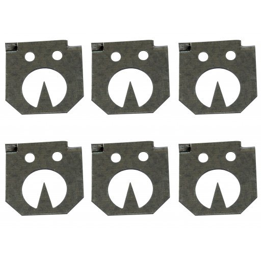 Replacement body Plaetchen, 6 pieces for Vole claw trap