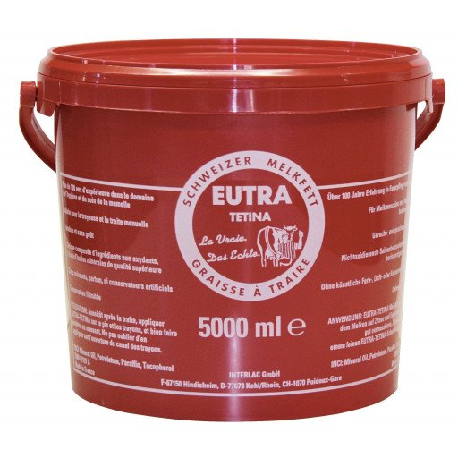 Eutra milking grease - 5000 ml