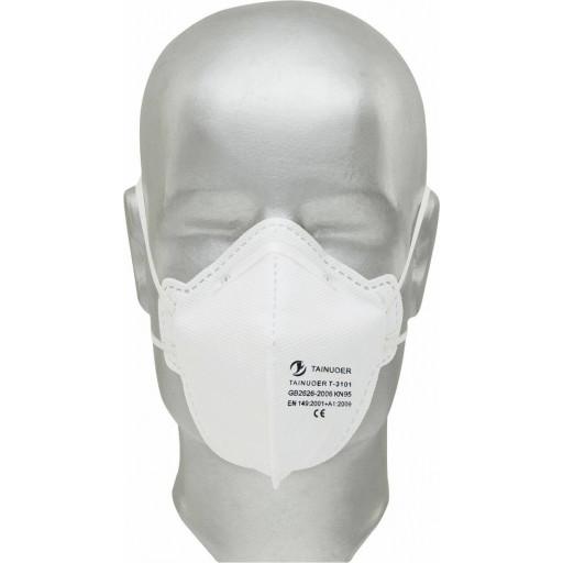 F folding fine dust mask P2 Tector ® without valve - 20 PCs / Pack