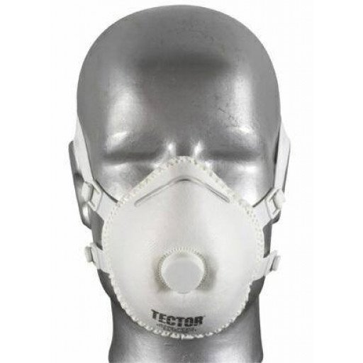 fine dust folding mask P3 Tector ® with valve - 5 PCs / Pack