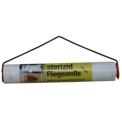 Calgonit Sterizid fly reel, 7 meters