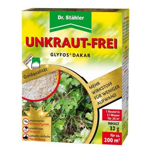 Glyfos ® Dakar by Dr. Staehler, 10 x 3.2 g - 680 g / kg of glyphosate