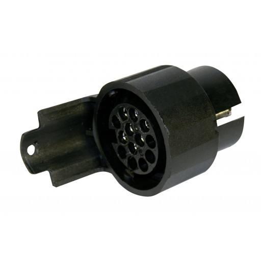 Adapter pieces, 13 pole 7 pole socket box