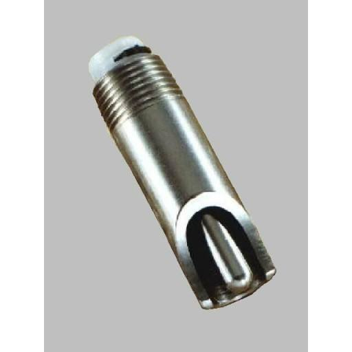 Nipple stainless 1/2 inch 1/2 inch thread