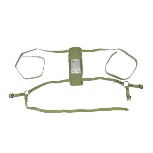 Buck jump harness leather