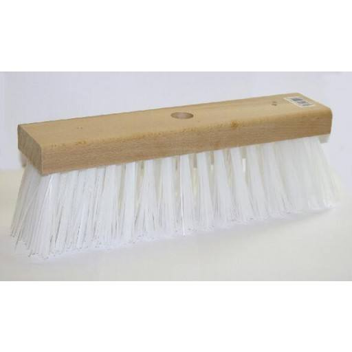 Replacement brush white bristles for water broom