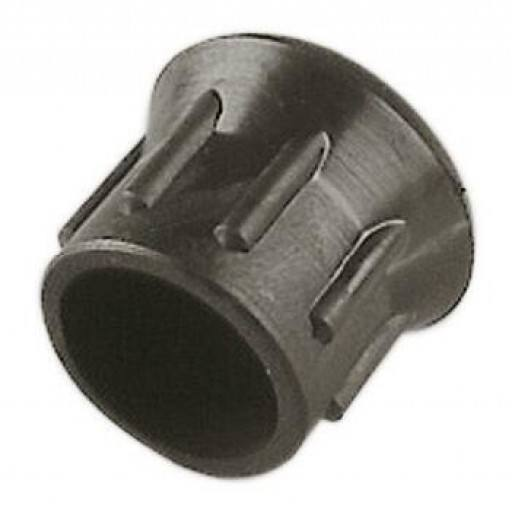 Replacement cap for shock bracket