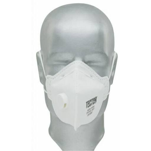 F folding fine dust mask P2 Tector ® with valve - 12 PCs / Pack