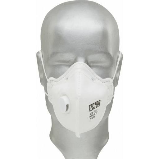 F fine dust folding mask P3 Tector ® with valve - 12 PCs / Pack