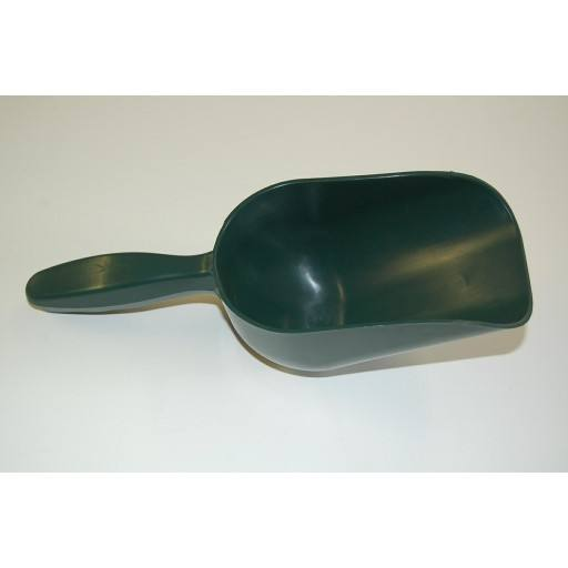 Feed bucket green plastic, 500 g