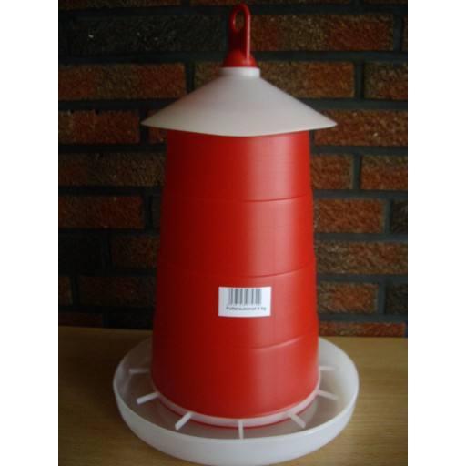 Poultry feeder 6 kg red - original Klaus