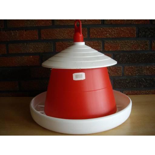 Poultry feeder 9 kg red - original Klaus