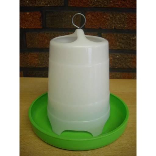 Poultry feeder, 1,5 kg, green