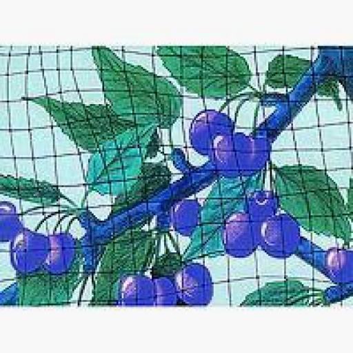 Cherry tree net - Protection for extra large trees and large surfaces. Protects fruits from bird food.