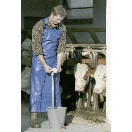 Milker - and washing apron 80 cm x 120 cm
