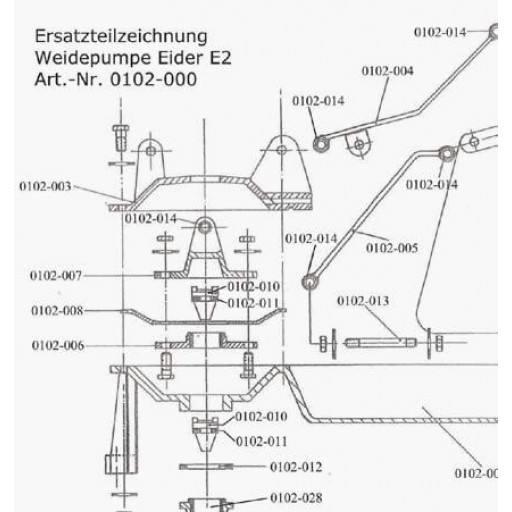 Diaphragm plate Eider