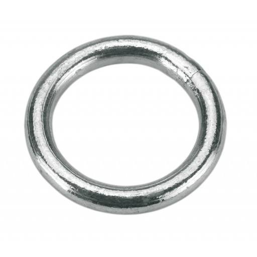 Zinc-plated ring 10 mm, SB Pack 3 pieces