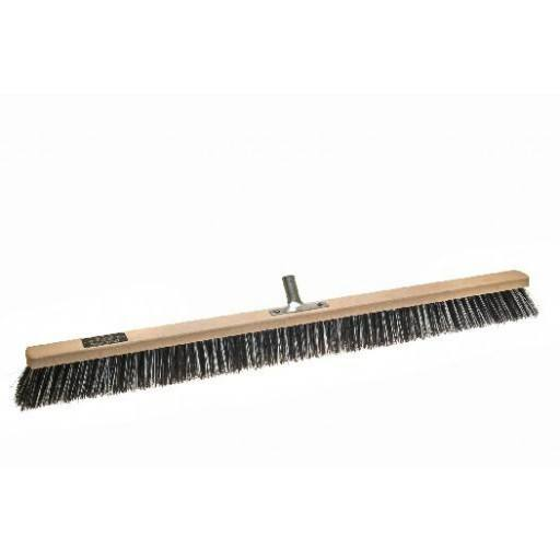 Room broom 100 cm, OSSI Flash, with metal stick holder