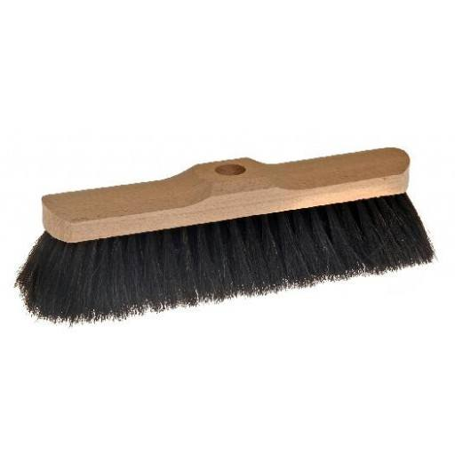 Room broom 28 cm, horsehair, with shaft hole