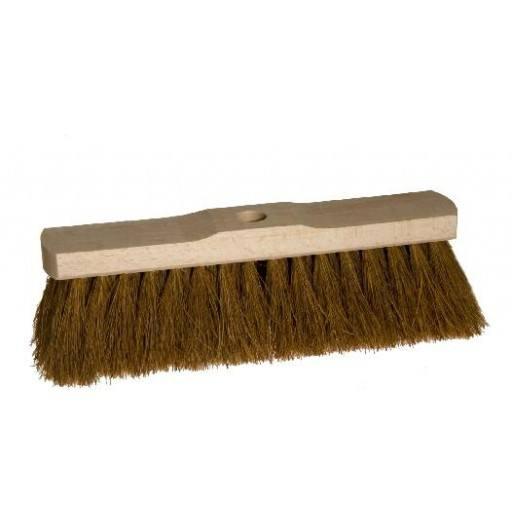 Room broom 30 cm coconut with shaft hole