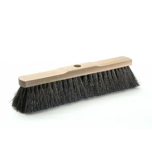 Room broom 40 cm harangue with shaft hole