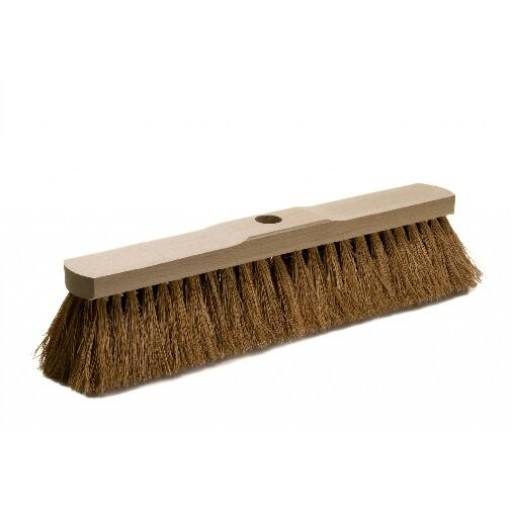 Room broom 40 cm coconut with shaft hole