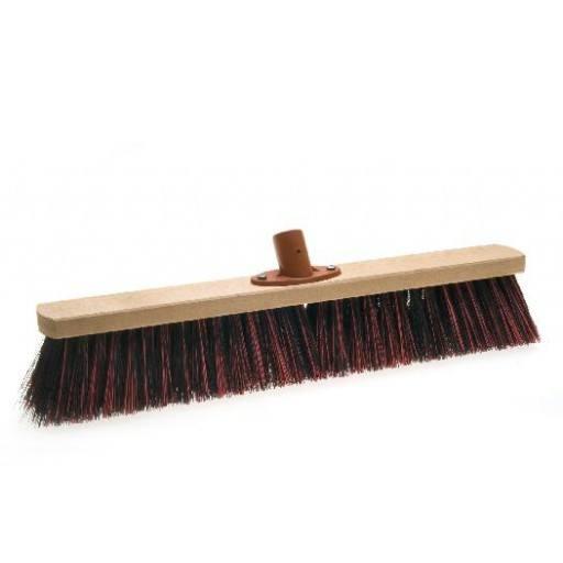 Room broom 50 cm harangue/Elaston mix with quick set holder