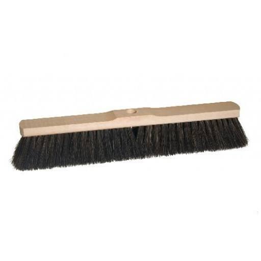 Room broom 50 cm harangue with shaft hole