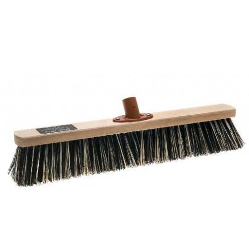 Room broom 50 cm, OSSI Flash, with quick set holder