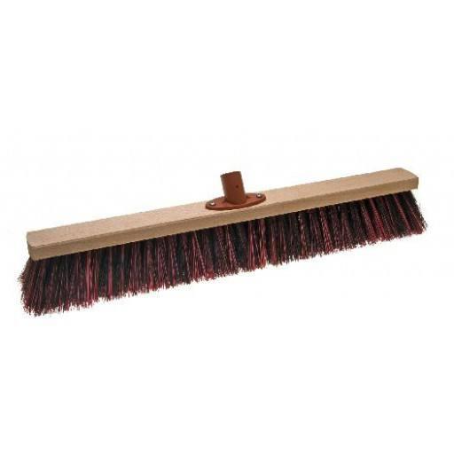 Room broom 60 cm harangue/Elaston mix with quick set holder
