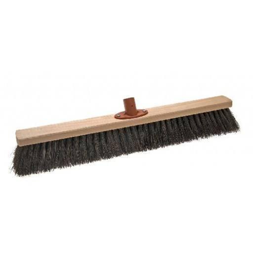 Room broom 60 cm harangue with quick set holder