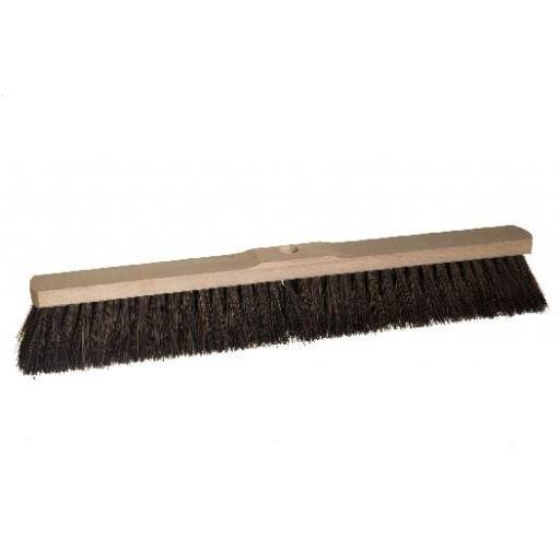 Room broom 60 cm harangue with shaft hole