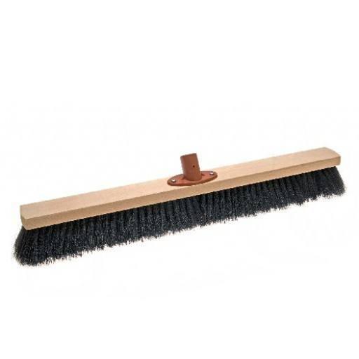 Room broom 60 cm, hair blend, with quick set holder