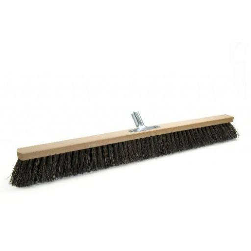 Room broom 80 cm harangue with metal stick holder