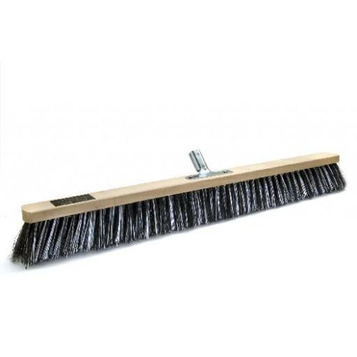 Room broom 80 cm, OSSI Flash, with metal stick holder